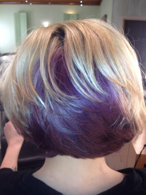 Purple Hair Becky F S Photo Beautylish