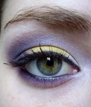 Wildflower eyeshadow tutorial here: http://www.youtube.com/watch?v=wYngwojY8Us&feature=related
