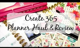 Happy Planner Plan With Me , Haul, & Review
