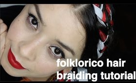 Folklorico Hair Braiding Tutorial