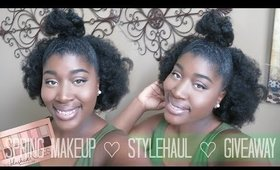 Spring Makeup 2015 | Maybelline Nudes + Stylehaul + Giveaway♡