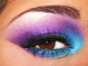 Smokey Eyes Series - Purple/Aqua