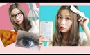 EOS Max Pure Brown Circle Lenses Review & Giveaway (Back To School Fashion)