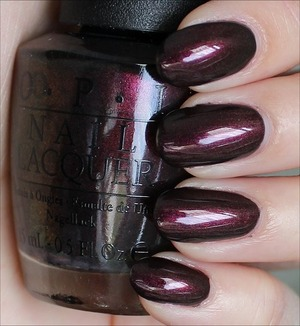 From the San Francisco Collection. Click through for my in-depth review and more swatches: http://www.swatchandlearn.com/opi-muir-muir-on-the-wall-swatches-review/