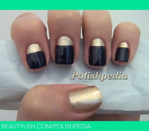 My Classical Chic Nail Design Polishpedia Xs Polishpedia Photo