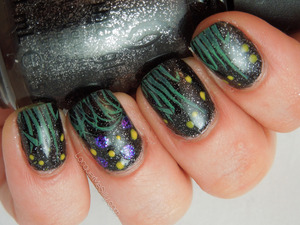 More details can be found on my blog post: http://www.lacquermesilly.com/2013/01/31/grassy-night-sky-for-lack-of-a-better-name/