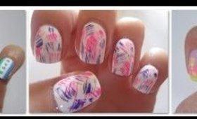 Three Easy Nail Art Designs - Step by Step Nail Art tutorial