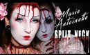 MARIE ANTOINETTE SPLIT NECK SFX HALLOWEEN MAKEUP TUTORIAL