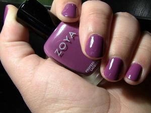 Nails: Zoya Nail Polish in Kieko