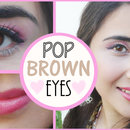 Makeup Look That Makes Brown Eyes Pop!