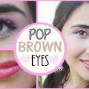 Makeup Look That Makes Brown Eyes Pop!