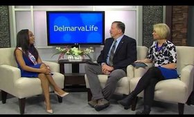 Road to Mrs. DE America 2018: My Interview on Delmarvalife -CBS! | Kym Yvonne