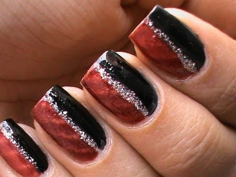 Magnetic Nail Polish Tutorial Magnetic Nail Art Designs Video