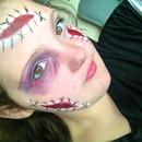 Ouch! Halloween makeup