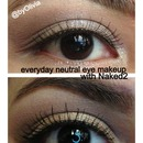 everyday neutral with Urban decay naked2