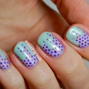 Pastel drips & dots