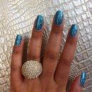 Sephora nail patch art, love it!