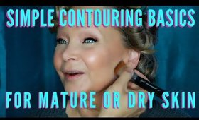 How To Look Younger By Contouring Correctly | mathias4makeup