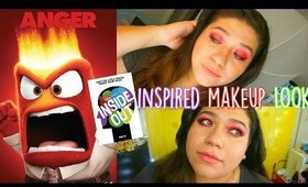 Inside Out inspired Makeup Tutorial: Anger