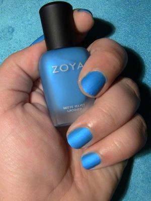 Nails: Zoya Nail Polish in Phoebe (Matte)