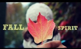 Pumpkin spice is everywhere - FALL SPIRIT TAG (from KateTheGreat)