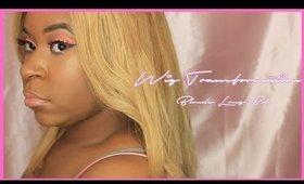 Wig Transformation: Blonde Long Bob | Lovebeautista | 2016