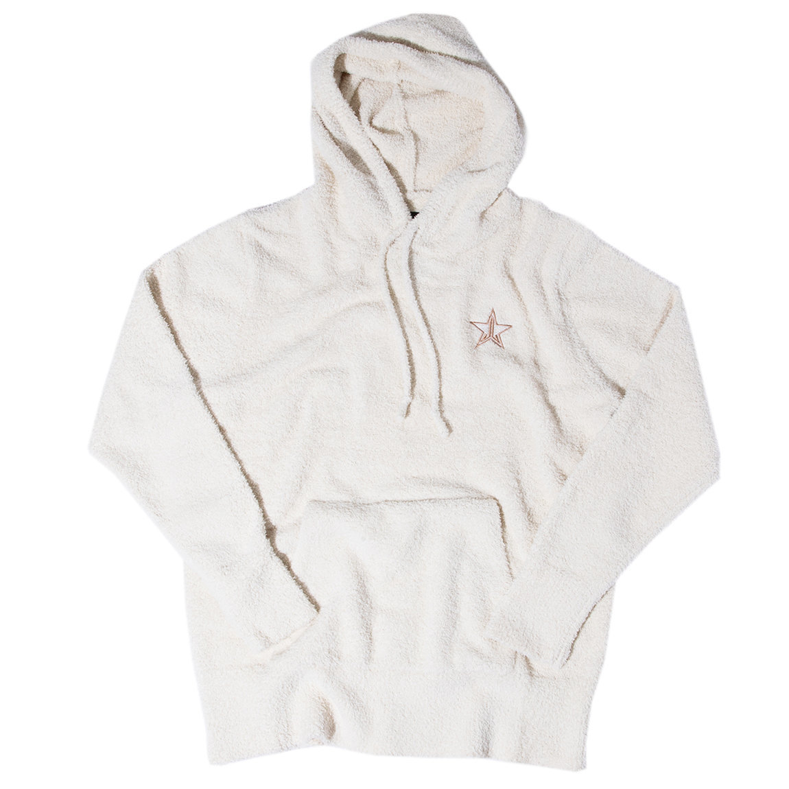 Jeffree Star Cosmetics White Teddy Pullover Small alternative view 1 - product swatch.