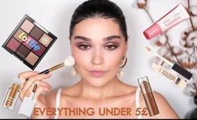 Full Face Under 5£. Makeup Products under 5£. Cheap and Fabulous