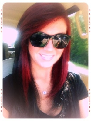 Red Frangè. Chelsea Houska inspired