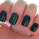 Nails Inc Gossip Girl Overglaze Duos - The Blair Collection