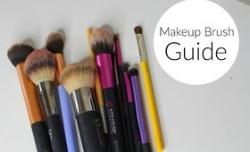 A Guide to My Favorite Makeup Brushes | Bailey B.