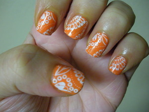 Orly Old School Orange