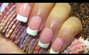 Nail Care routine & Easy French manicure nails... :-)