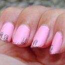 Drippy Pink Glitter