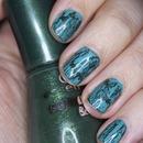 St. Patrick's Day Shatter Manicure