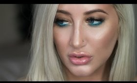 Glowy Skin + Pop of Color | Makeup Tutorial