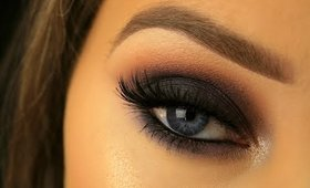 SIMPLE NIGHT OUT SMOKEY EYE FOR BEGINNERS   DRUGSTORE