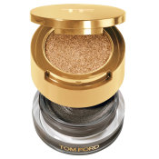 TOM FORD Cream and Powder Eye Color Black Sand