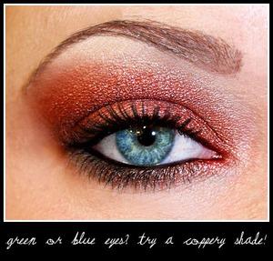 Rustic Copper | Blue Eyes' BFF