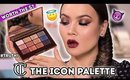 CHARLOTTE TILBURY THE ICON PALETTE - REVIEW + SWATCHES + LOOK   Maryam Maquillage