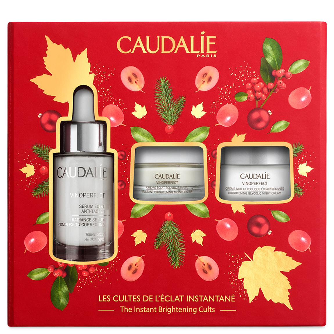 Caudalie Vinoperfect Instant Brightening Cults Set alternative view 1 - product swatch.