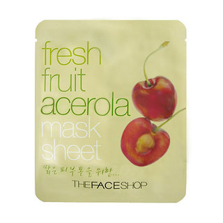 The Face Shop Fresh Fruit Acerola Mask Sheet