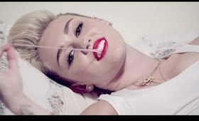 Miley Cyrus - We Can't Stop Official Music Video Makeup Tutorial