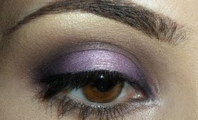 Purple & Brown Eye Look -- LC's Favorite Eye Look!