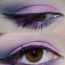 Purple and Fuchsia Eye ft. Double wing