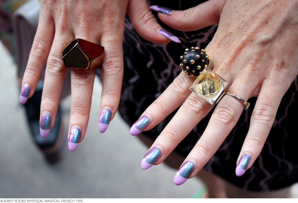 Street Seen: New York Fashion Week\'s Wildest Nail Art | Beautylish