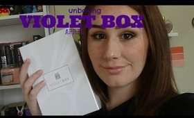 Violet Box April Unboxing