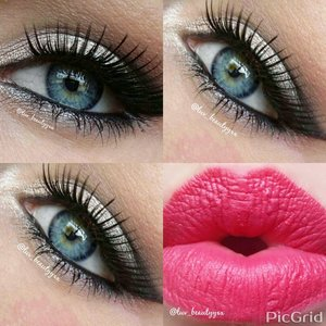 products used urban decay naked 2 palette. eyes: on lid is (verve, pistol & blackout) tease in crease lashes are off amazon lips is Maybelline 14 hour wear in eternal rose