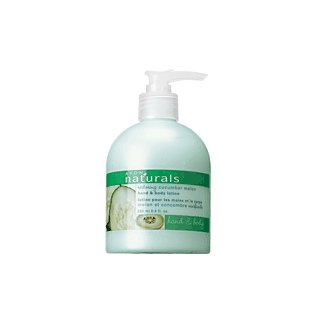 Avon Naturals Cucumber Melon Hand & Body Lotion
