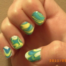 First ever water marble